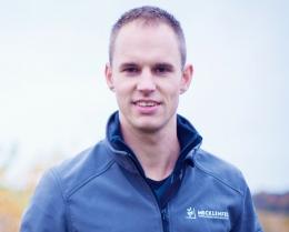 Peter Mecklenfeld. auteur en maker Snoeien en Bloeien programma